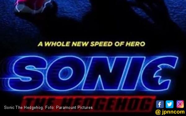 Penampakan Poster Pertama Film Sonic - JPNN.COM