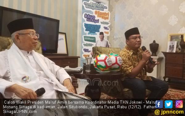 Kiai Ma'ruf Amin Ternyata Seorang Milanisti - JPNN.COM