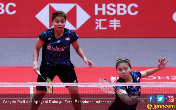 Pukul Kakak Beradik dari Bulgaria, Greysia / Apriyani ke 16 Besar Indonesia Masters - JPNN.COM