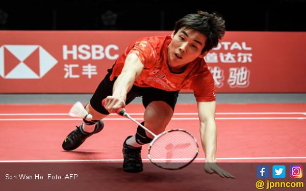 Son Wan Ho Tundukkan Unggulan Pertama BWF World Tour Finals - JPNN.COM