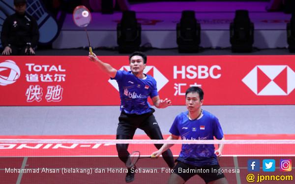 Gagal ke Semifinal, Ahsan / Hendra Tak Patah Semangat - JPNN.COM