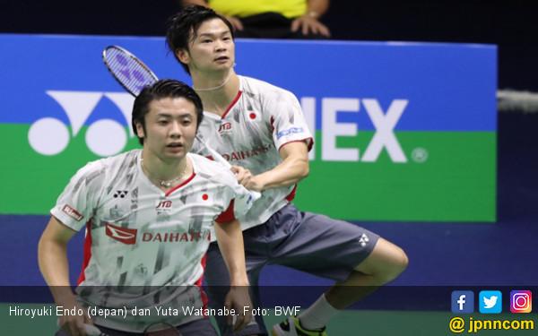 Endo / Watanabe Tembus Final BWF World Tour Finals 2018 - JPNN.COM