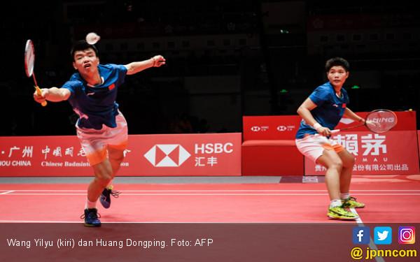 72 Menit, Wang / Huang Jatuh Bangun Kalahkan Yuta / Arisa - JPNN.com