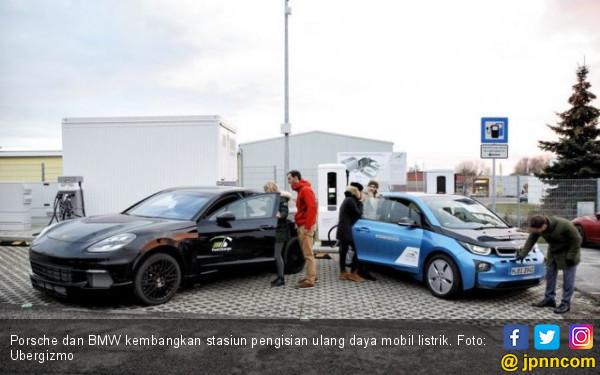 Porsche dan BMW Ingin Lampaui Tesla Dalam Hal Ini - JPNN.COM