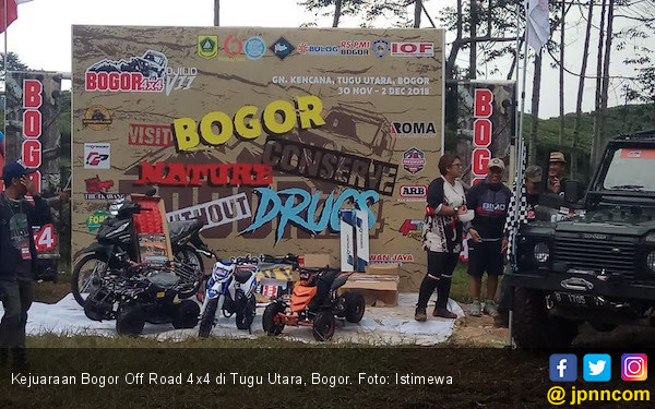 Aki Dynex Rajai Kejuaraan Bogor Off Road 4x4 2018 - JPNN.COM