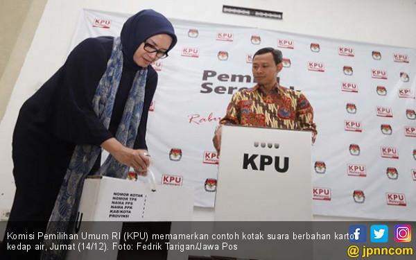 Arsul Sani Membuktikan Kardus KPU Tak Penyok saat Diduduki - JPNN.COM