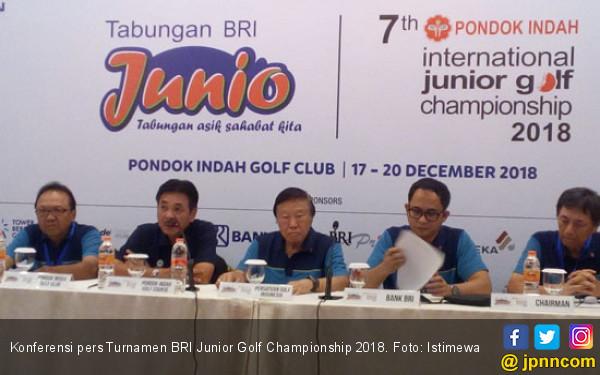 Pegolf dari 10 Negara Ramaikan Turnamen BRI Junior 2018 - JPNN.com