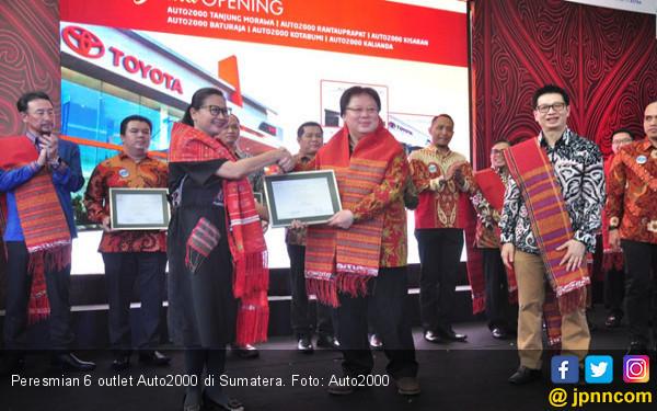 Auto2000 Serentak Resmikan 6 Outlet Baru di Sumatera - JPNN.com