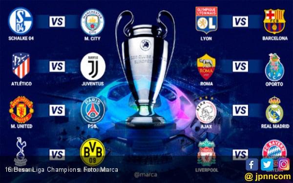 Jadwal Liga Champions Rabu dan Kamis Ini - JPNN.COM