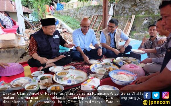 Ancol Beri Bantuan kepada Korban Gempa Lombok - JPNN.COM