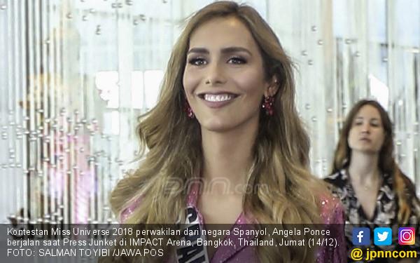 Lahir sebagai Laki – laki, Ikut Miss Universe 2018 - JPNN.COM