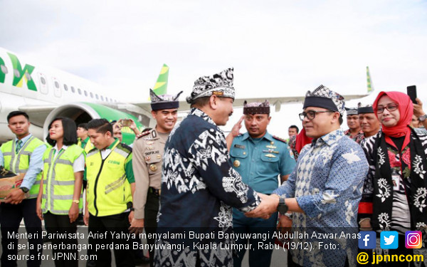 Buka Rute ke KL, Banyuwangi Incar 100.000 Turis Malaysia - JPNN.com