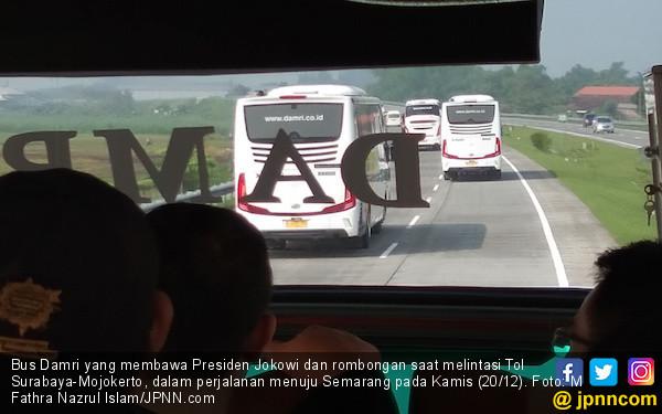 Bus Damri di Terminal Kayuringin Bekasi Sudah tidak Beroperasi - JPNN.com
