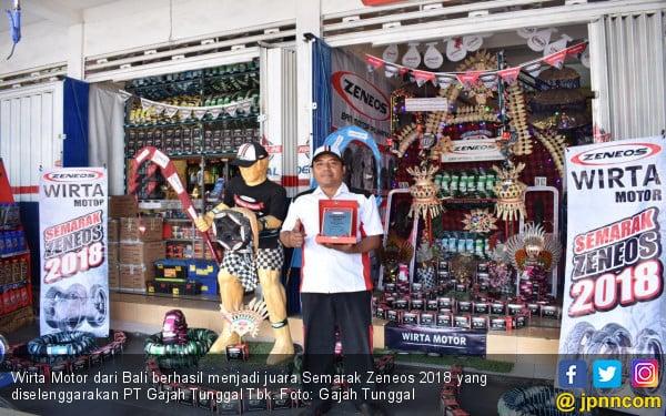 Wirta Motor Raih Gelar Juara Semarak Zeneos 2018 - JPNN.com