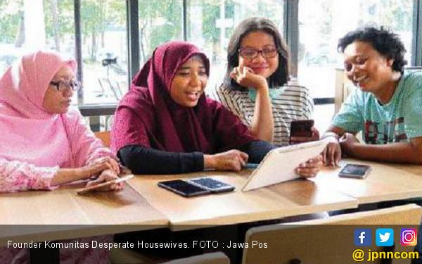 Komunitas Desperate Housewives Ajak Emak-Emak Bahagia - JPNN.com