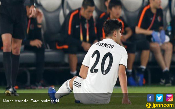 Asensio Bakal Absen di Final Piala Dunia Antarklub Malam Ini - JPNN.COM