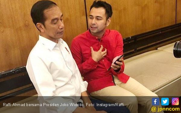 Bertemu Jokowi, Raffi Ahmad Dapat Pesan Ini... - JPNN.com