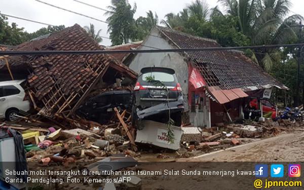 Pesan Bagi Pemilik Mobil yang Tersapu Tsunami di Banten - JPNN.com
