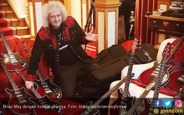 Doa Gitaris Queen untuk Band Seventeen - JPNN.com