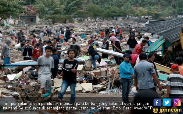 SDM PKH Gerak Cepat Bantu Korban Tsunami Lampung - JPNN.com
