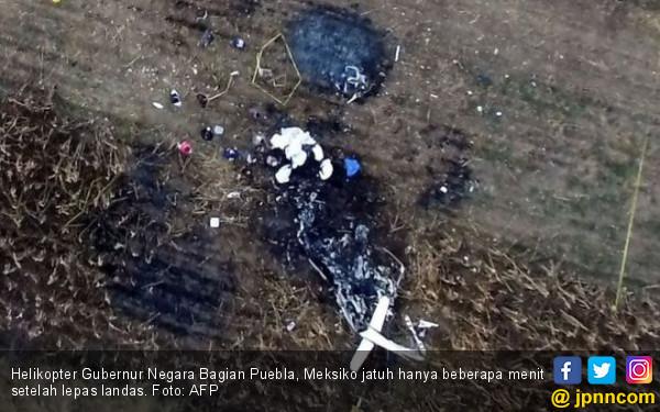 Amerika Serikat Selidiki Penyebab Kecelakaan Helikopter yang Menewaskan Miliader Ceko - JPNN.com