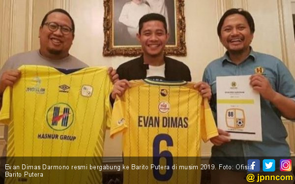 Sebesar Inikah Nilai Kontrak Evan Dimas di Barito Putera? - JPNN.com