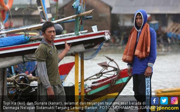 Cerita Para Nelayan yang Selamat dari Tsunami, Ngeri! - JPNN.COM