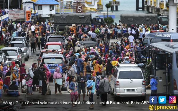 1 Jam Sebelum Tsunami, Allah Beri Tanda Buat Warga Sebesi - JPNN.COM