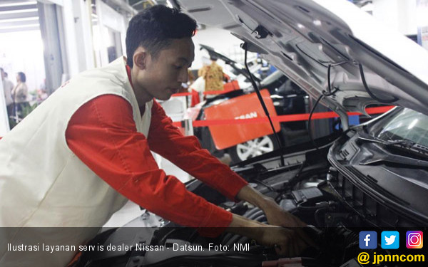 Nissan Beri Keringanan Servis ke Korban Tsunami Selat Sunda - JPNN.com