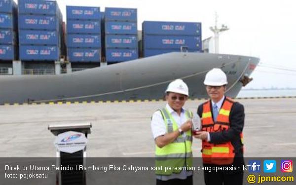 Pelabuhan Kuala Tanjung Resmi Beroperasi - JPNN.com