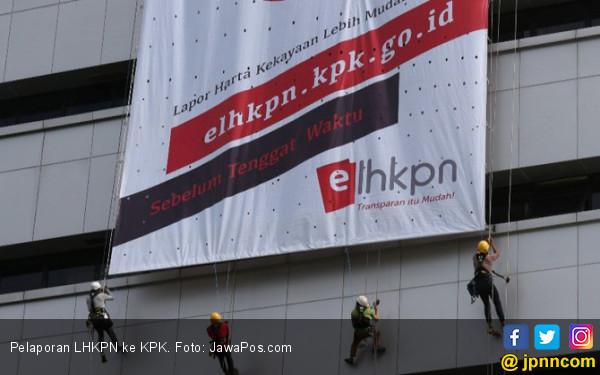 Menteri Jokowi Sudah Mengajukan LKHPN, Wantimpres Nihil