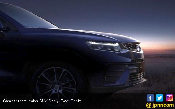 Calon SUV Pertama Geely Pakai Sasis CMA Volvo - JPNN.com