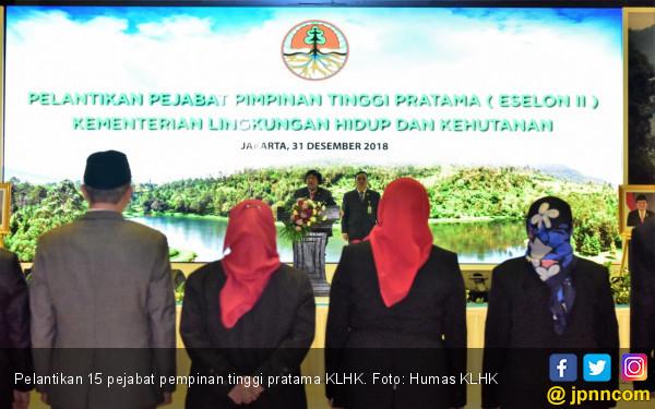 Menteri LHK Lantik 15 Pejabat Pimpinan Tinggi Pratama - JPNN.COM