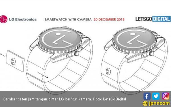 LG Daftarkan Paten Jam Tangan Pintar Berfitur Kamera - JPNN.COM