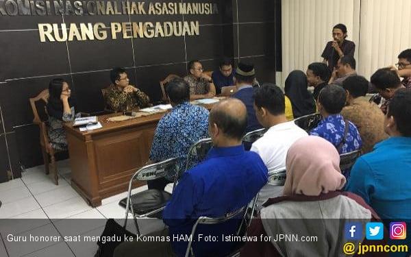 Guru Honorer Desak Komnas HAM Bentuk Tim Pencari Fakta - JPNN.com