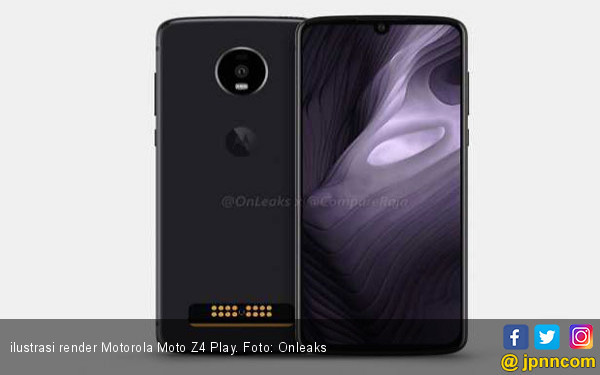 Tersiar Video Render Motorola Moto Z4 Play - JPNN.COM