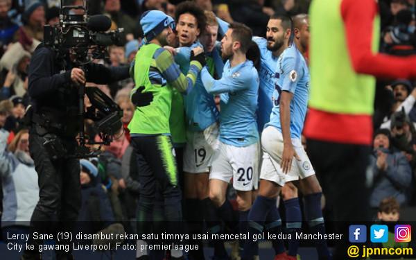 Manchester City Akhiri Rekor Tak Terkalahkan Liverpool - JPNN.com