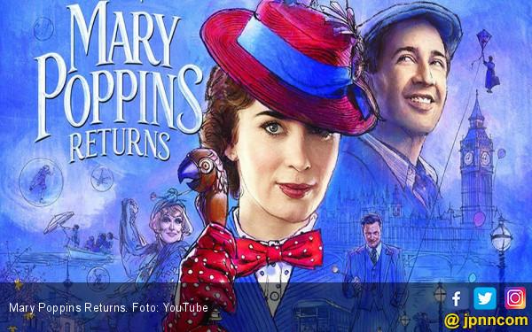 Perankan Marry Poppins, Emily Blunt Bikin Keluarga Bangga - JPNN.COM