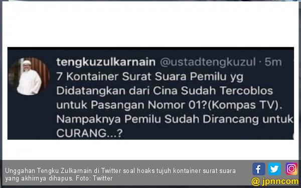 Hoaks Mampu Mengubah Pilihan Politik Publik - JPNN.COM