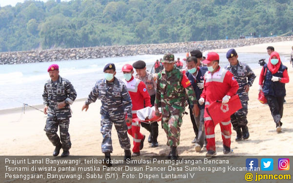 9 Kabupaten Rawan Tsunami, Polisi Siap Siaga - JPNN.com