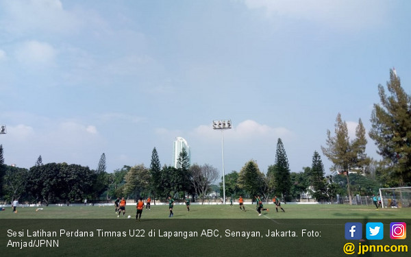 Egy dan Ezra Absen Latihan Perdana Timnas U-22 - JPNN.COM