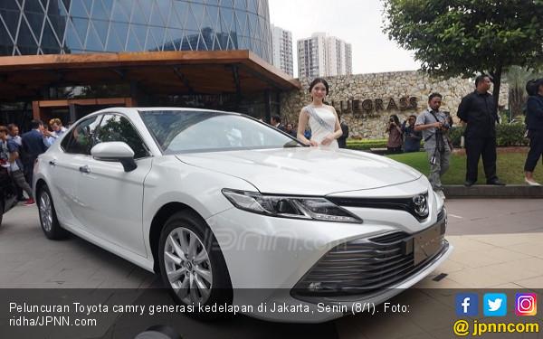 Toyota Camry Terbaru Diharapkan Perluas Sasaran Konsumen - JPNN.COM