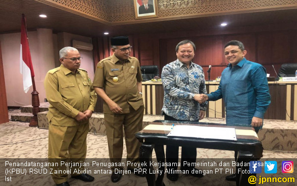 PT PII Siapkan Pengembangan RSUD Zainoel Abidin Aceh - JPNN.COM