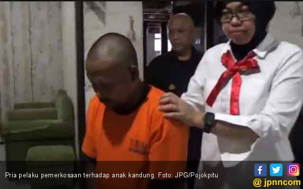 Bercerai, Bapak Bejat Tega Hamili Anak Kandung - JPNN.COM