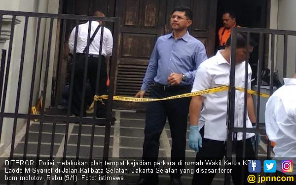 Sketsa Peneror di Rumah Pimpinan KPK Sedang Dibuat - JPNN.com