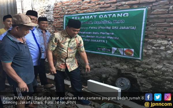 PWNU DKI Bedah Ribuan Rumah Warga Tidak Mampu - JPNN.com
