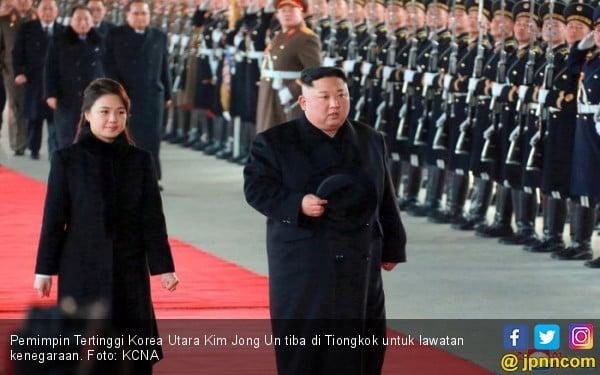 Rayakan Ultah di Tiongkok, Kim Jong Un Beri Sinyal ke Trump - JPNN.COM