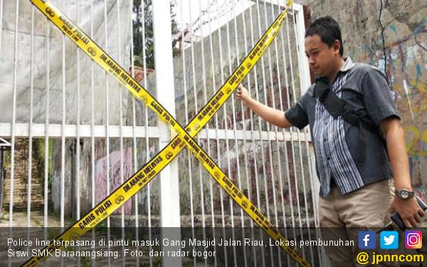 Pembunuh Siswi SMK Bogor Sudah Lama Mengincar Korban - JPNN.com