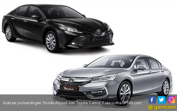 Membanding Toyota Camry Terbaru dengan Honda Accord - JPNN.COM