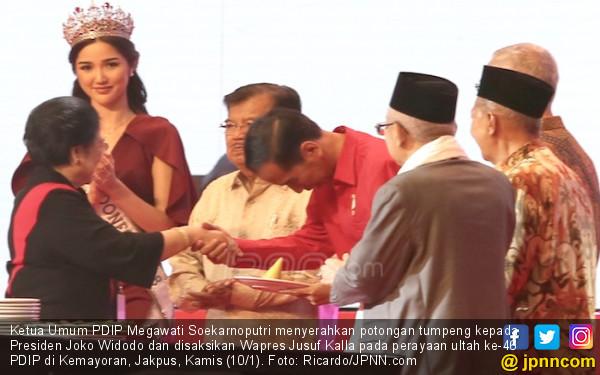 Bu Mega Sebenarnya Ingin JK Tetap Dampingi Jokowi di Pilpres - JPNN.COM